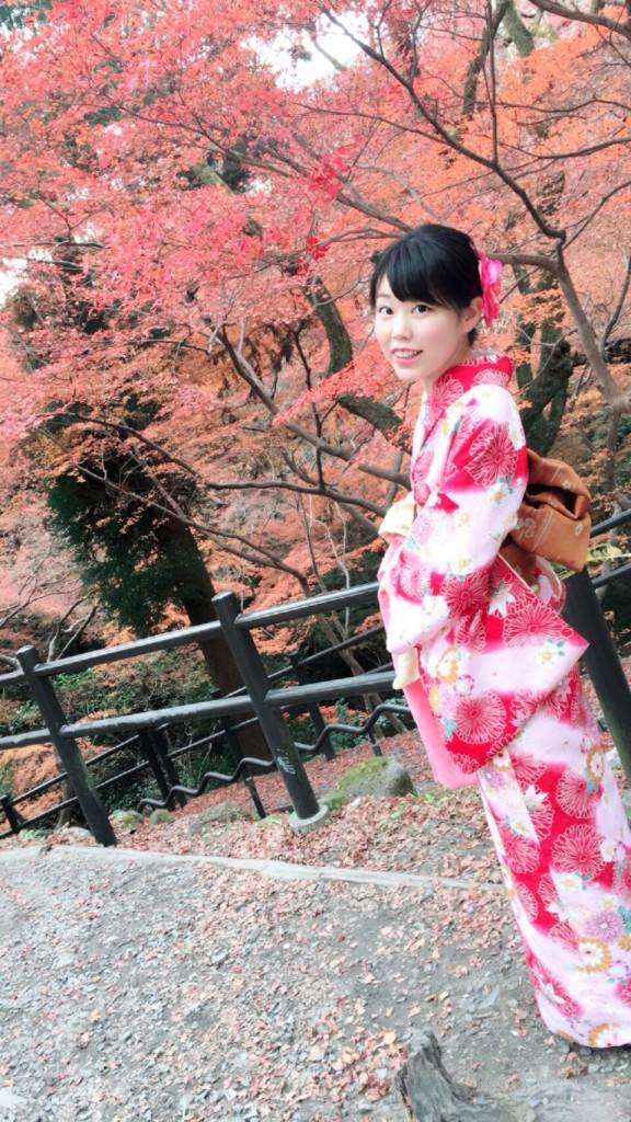 紅葉シーズンに京都修学旅行♪2017年11月30日9