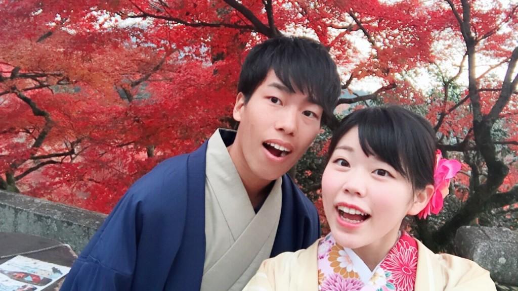 紅葉シーズンに京都修学旅行♪2017年11月30日10