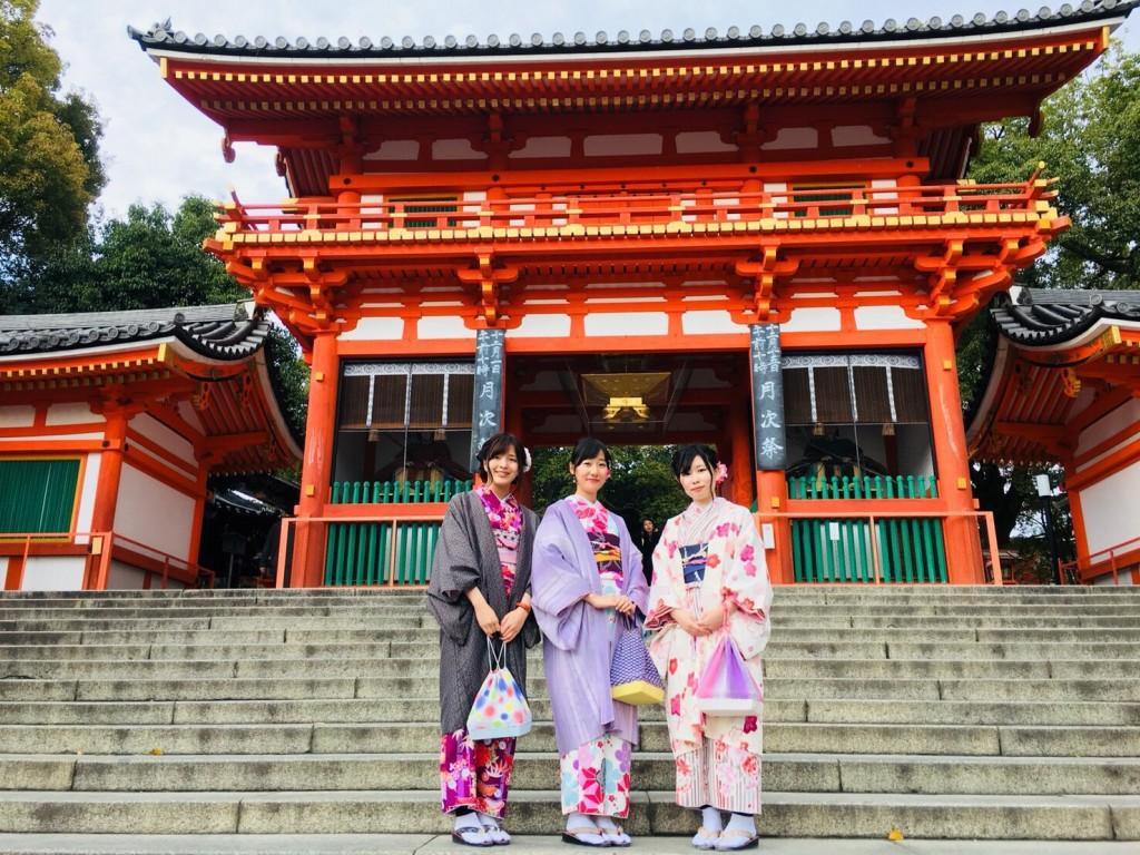 紅葉シーズンに京都修学旅行♪2017年11月30日12