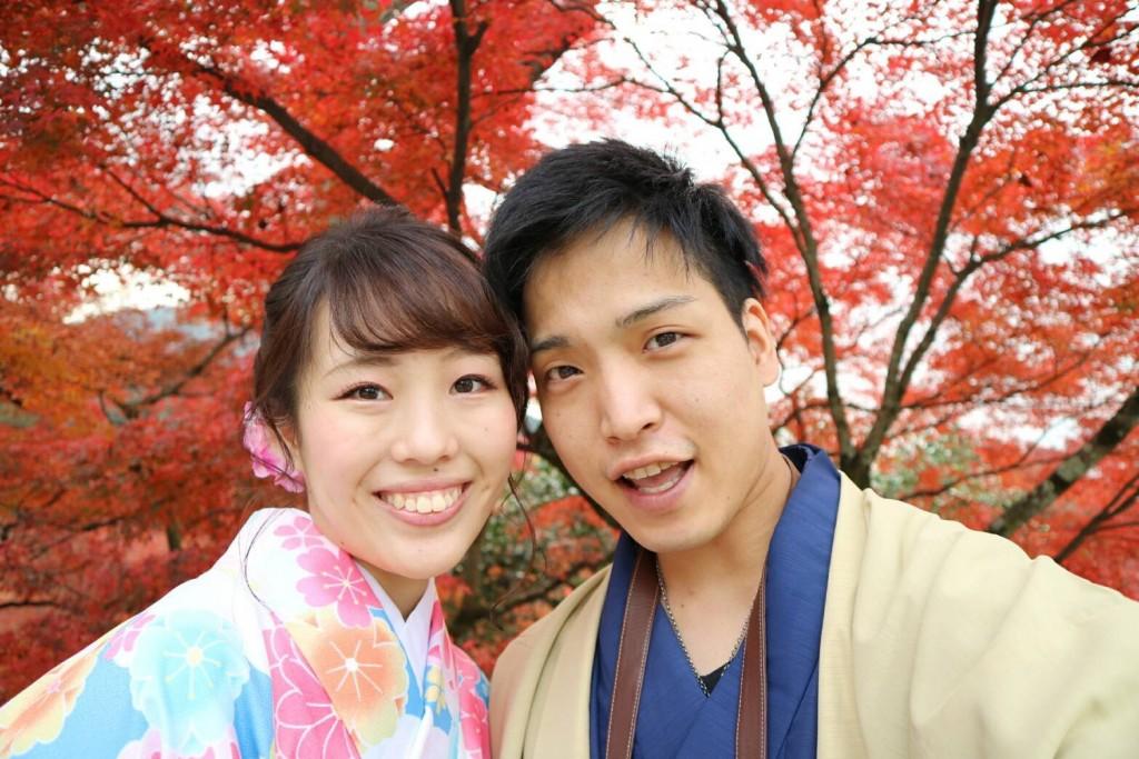 紅葉シーズンに京都修学旅行♪2017年11月30日14