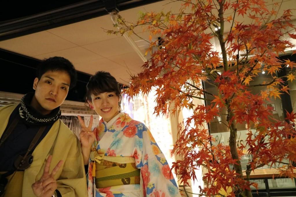 紅葉シーズンに京都修学旅行♪2017年11月30日16