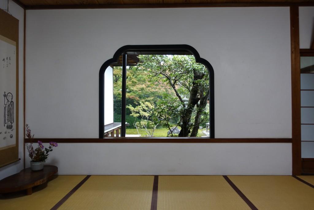 源光庵(げんこうあん)悟りの窓と迷いの窓8