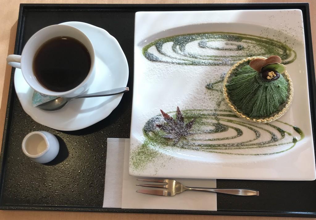 季の音「濃茶モンブラン」5