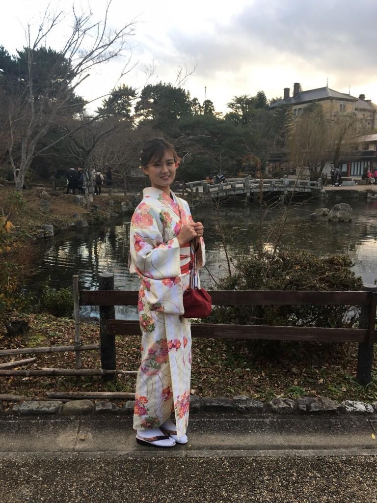 クリスマスにハート型窓の正寿院へ♡2017年12月25日14