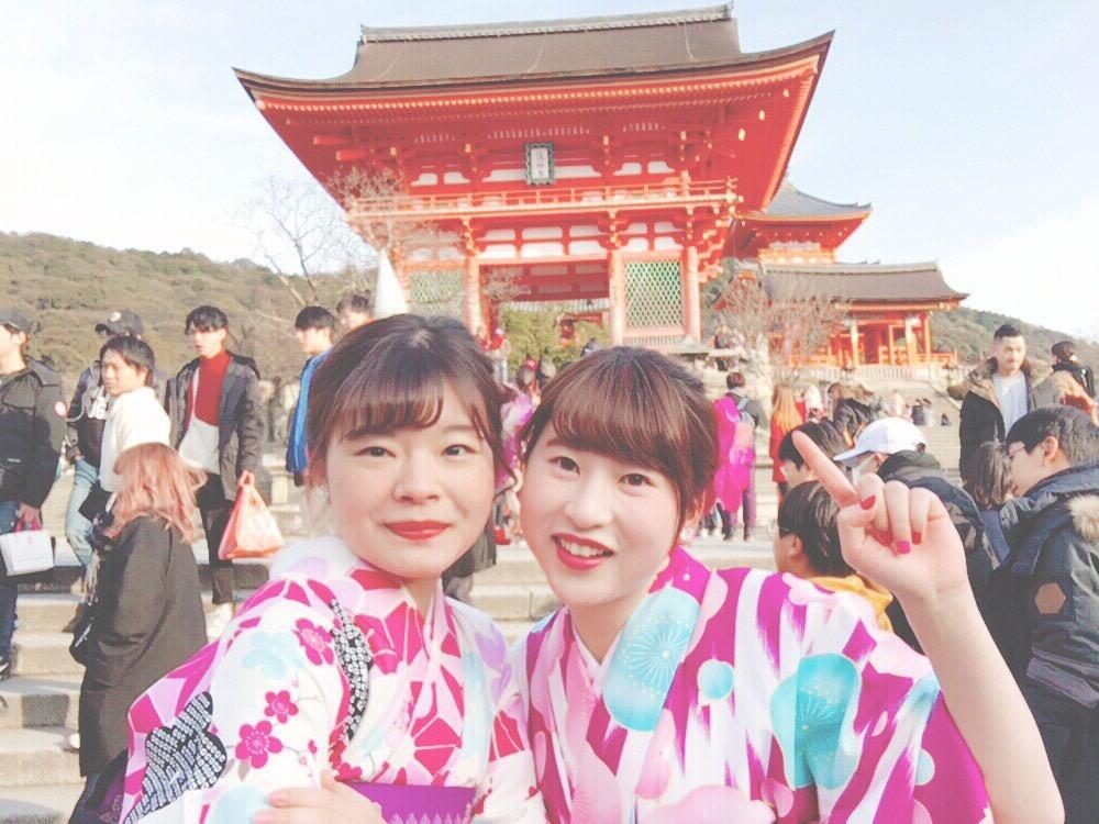 八坂庚申堂と抹茶パフェ❣2018年1月31日3