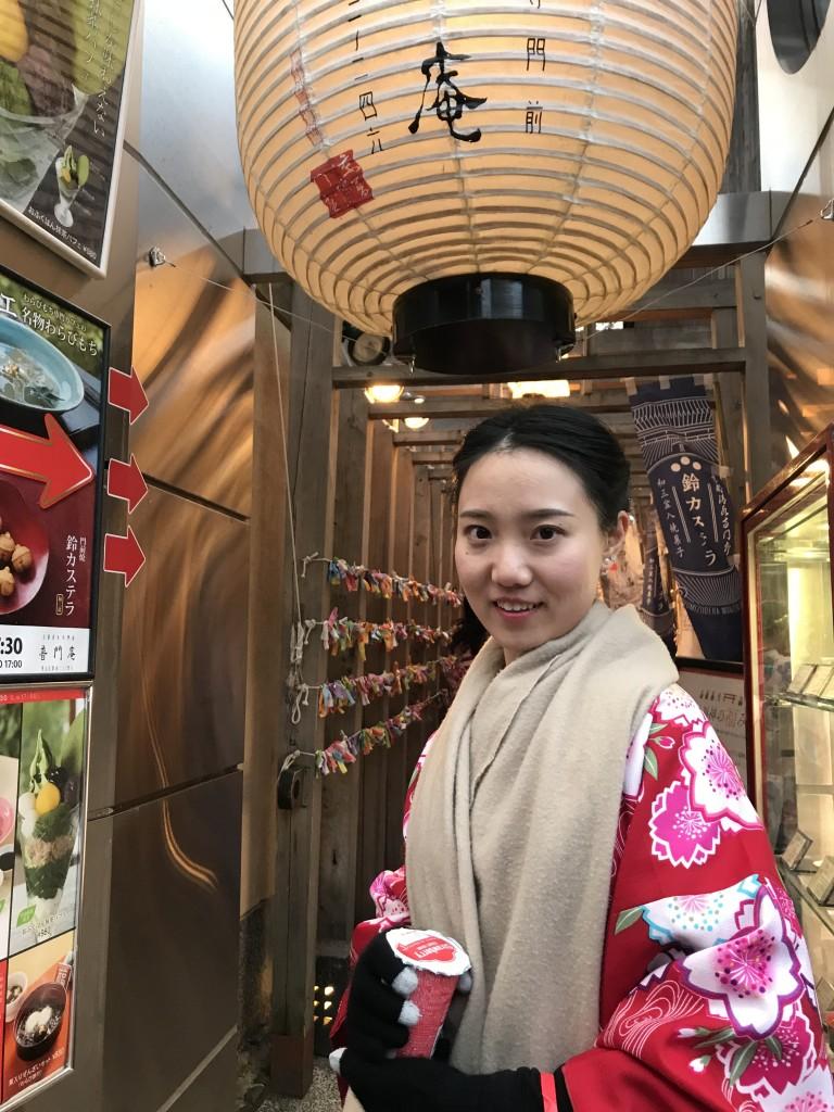中国から清水寺など東山を散策♪2018年2月5日3