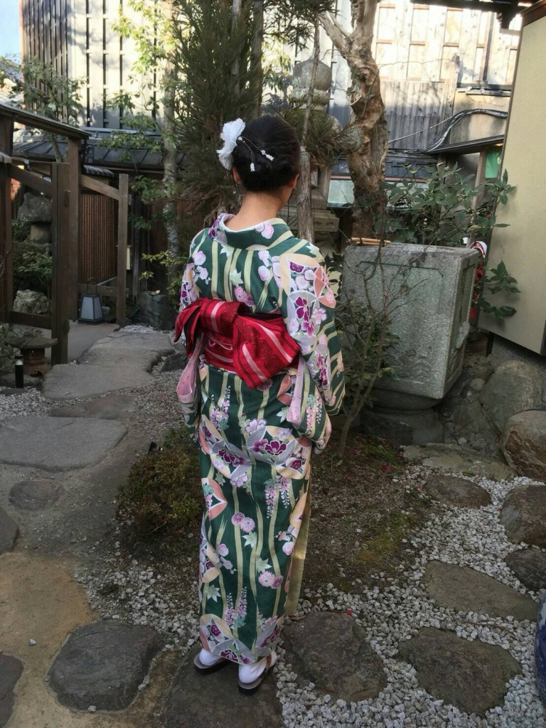 中国から清水寺など東山を散策♪2018年2月5日5