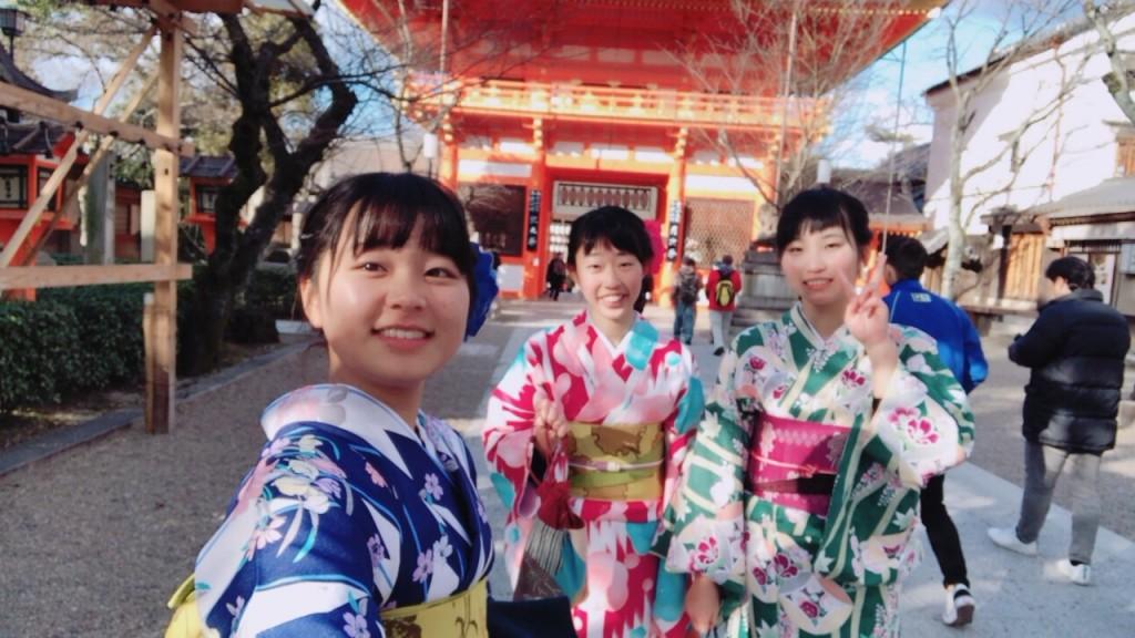 香川からの高校生❣卒業旅行♪2018年2月7日2