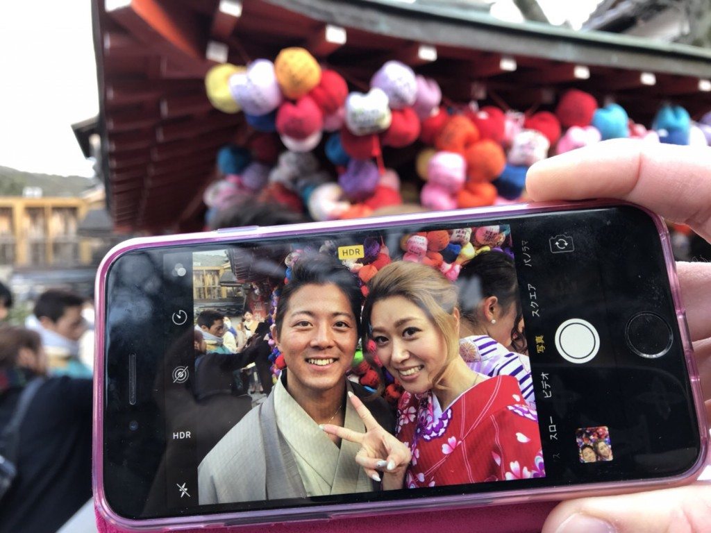 %のマーク❣アラビカ京都並んで来ましたぁ♪2018年2月11日15