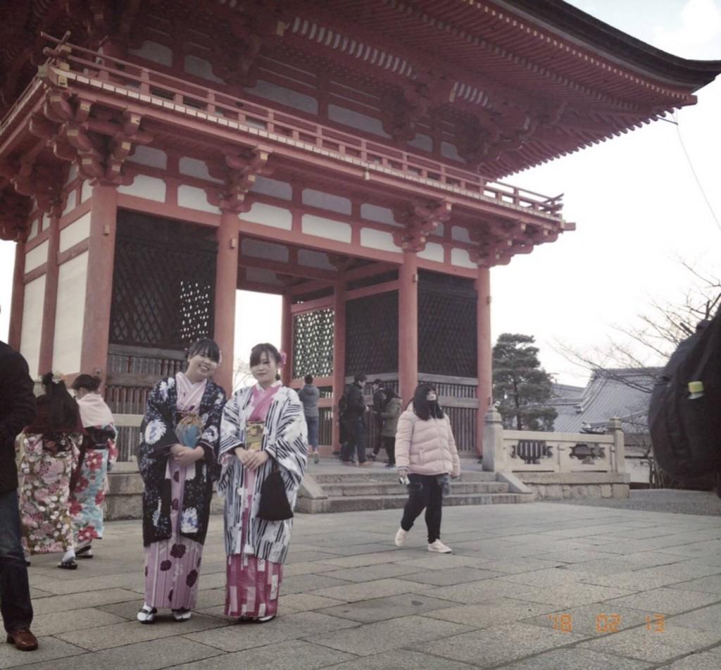 もうすぐ春の京都 東山方面へ♡2018年2月13日1