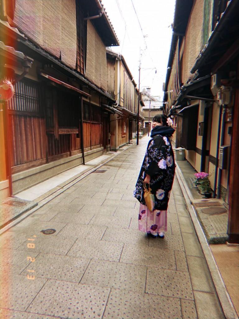 もうすぐ春の京都 東山方面へ♡2018年2月13日2