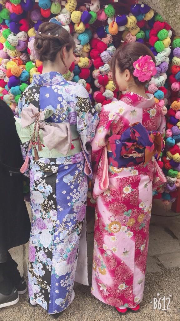 入試休み♪みんなで京都へ❣2018年2月14日4