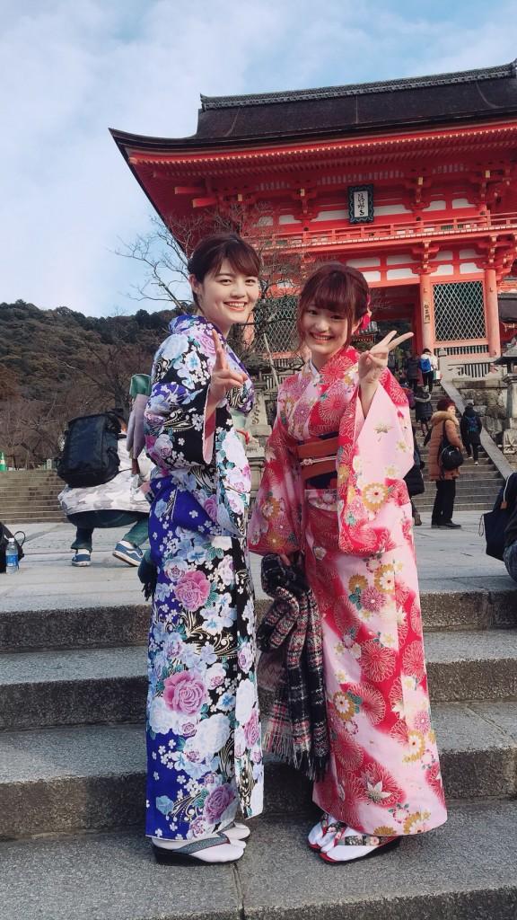 入試休み♪みんなで京都へ❣2018年2月14日5