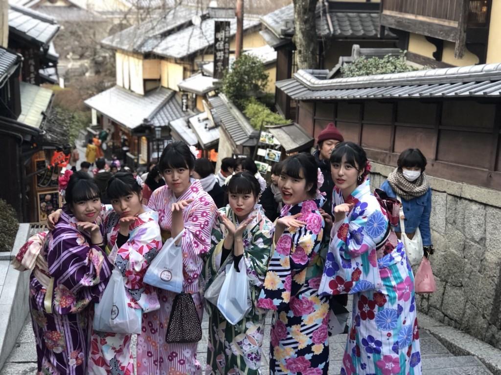 入試休み♪みんなで京都へ❣2018年2月14日7