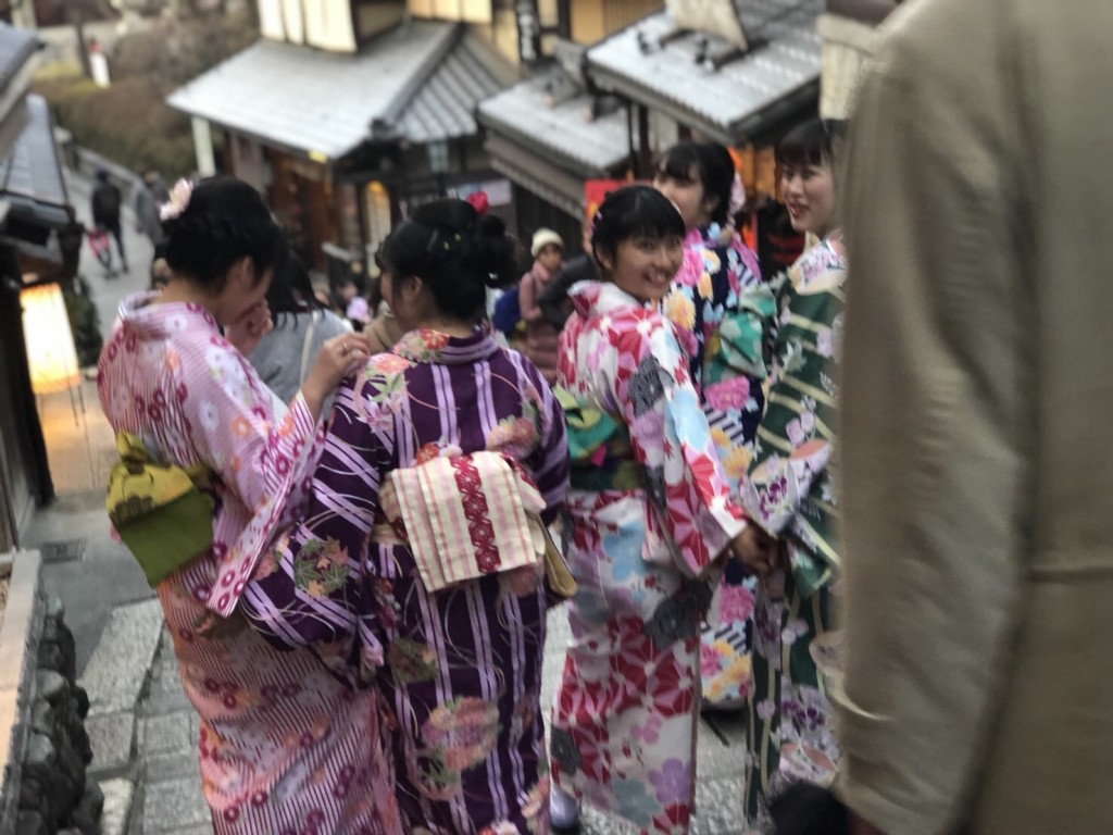 入試休み♪みんなで京都へ❣2018年2月14日8