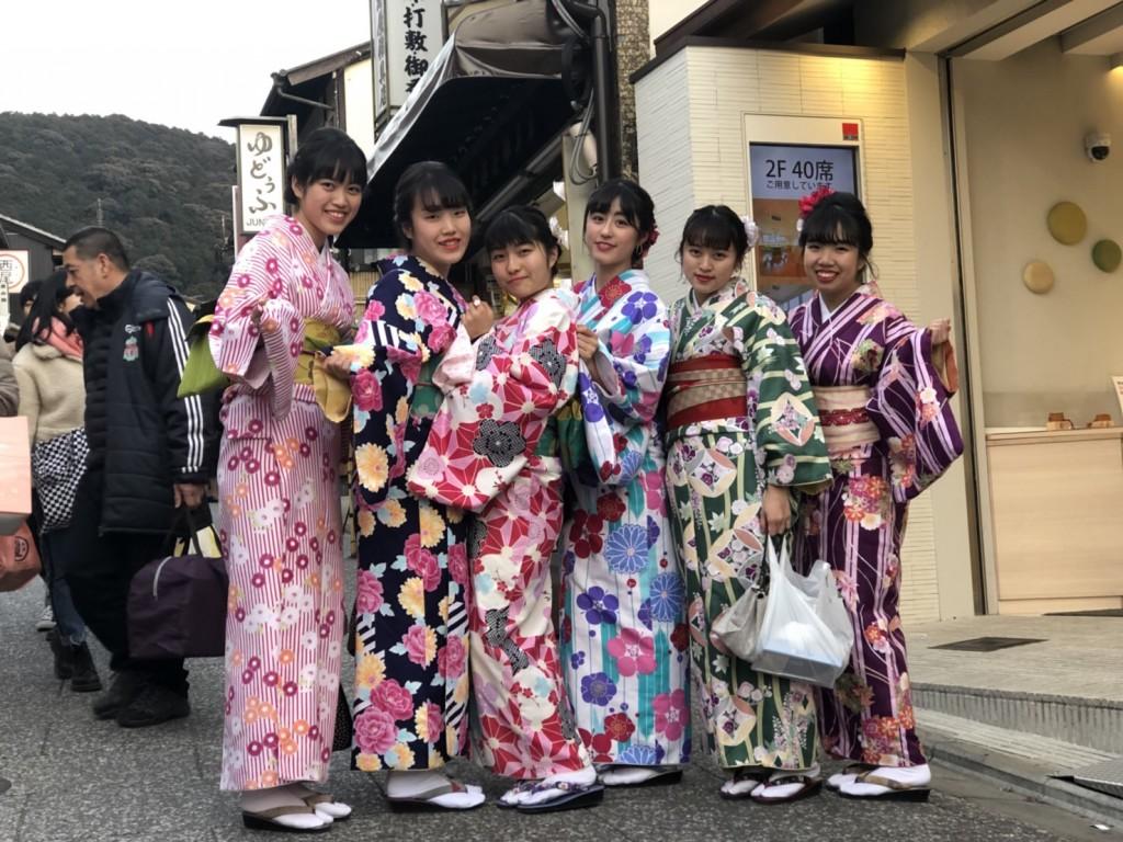 入試休み♪みんなで京都へ❣2018年2月14日9