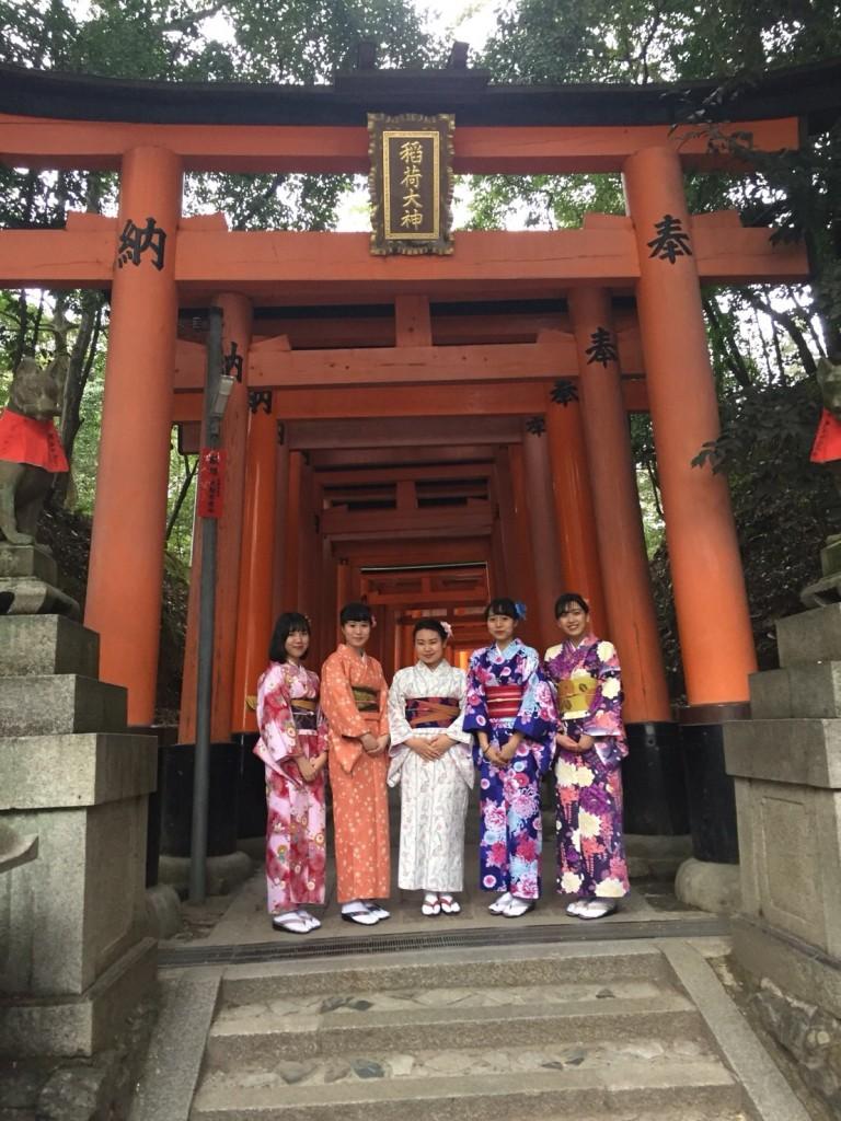 関東から卒業旅行の高校三年生♪2018年2月15日1