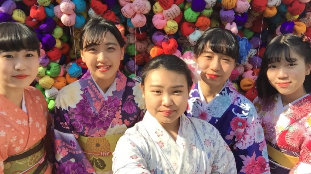 関東から卒業旅行の高校三年生♪2018年2月15日3