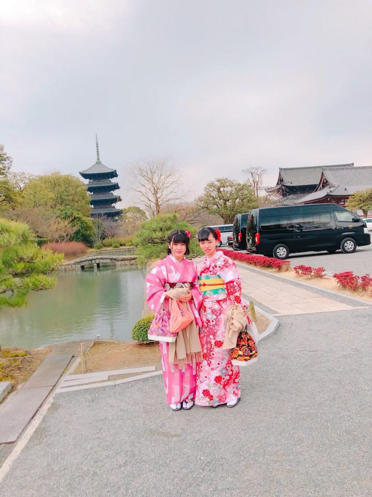 関東から卒業旅行の高校三年生♪2018年2月15日5