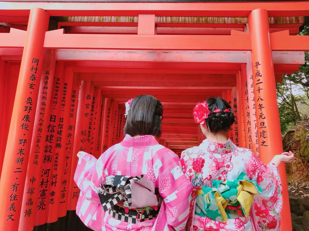 関東から卒業旅行の高校三年生♪2018年2月15日6