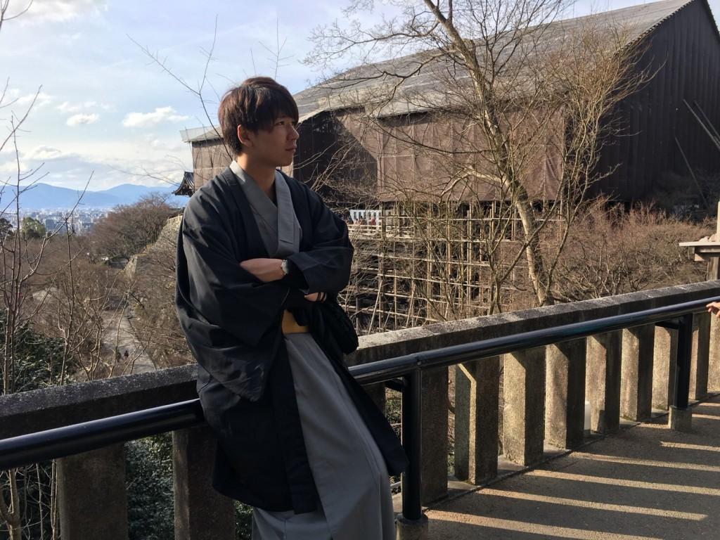 カップル様❣卒業旅行で南禅寺水路閣へ♪2018年2月22日12