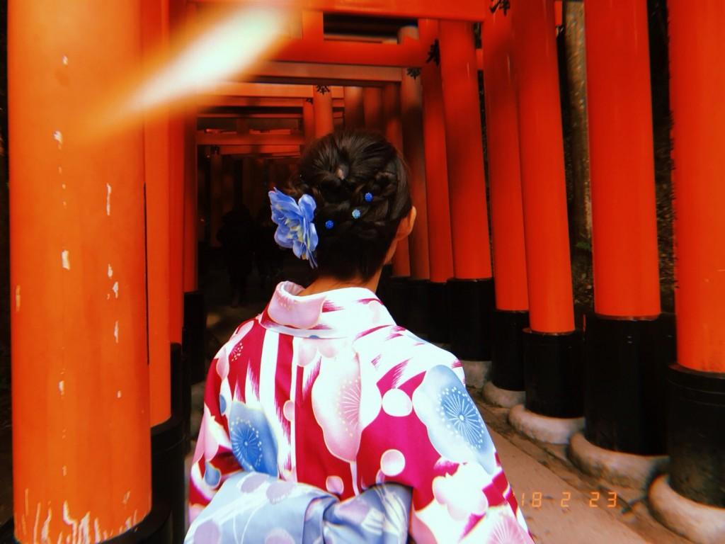 予定通りに河合神社も行けました♪2018年2月23日6