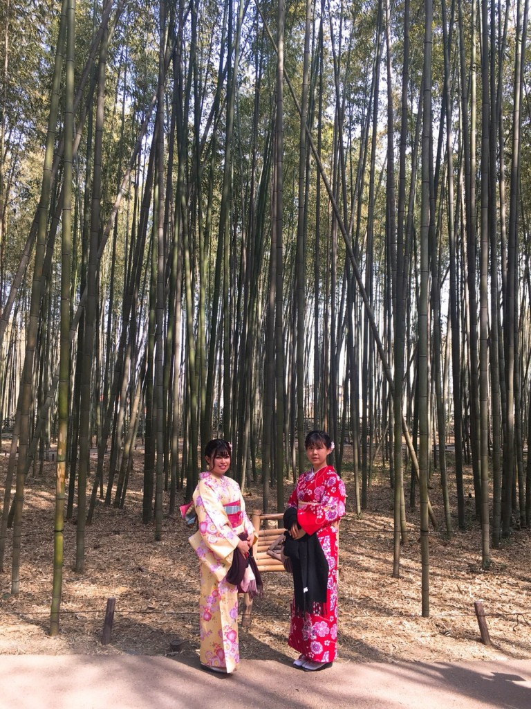 嵐山竹林の小径とキモノフォレスト♡2018年2月28日4