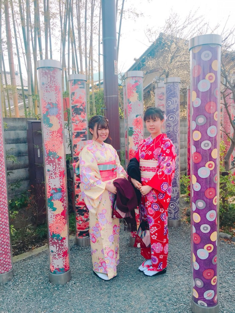 嵐山竹林の小径とキモノフォレスト♡2018年2月28日5