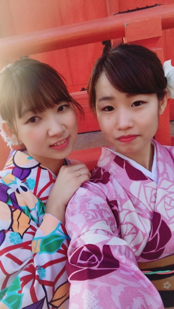 京都も暖かくなってきましたぁ♡2018年3月13日5