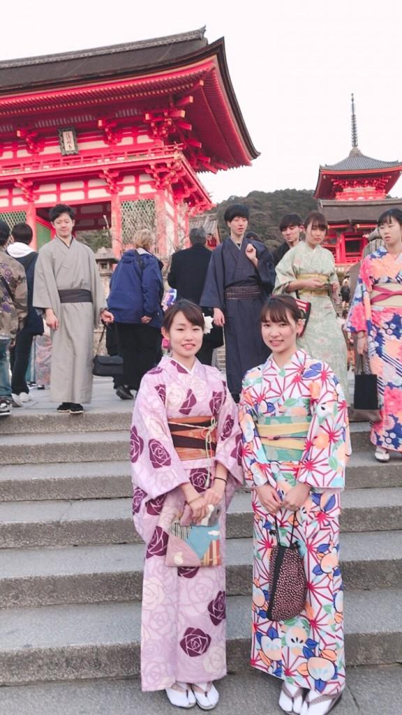 京都も暖かくなってきましたぁ♡2018年3月13日6