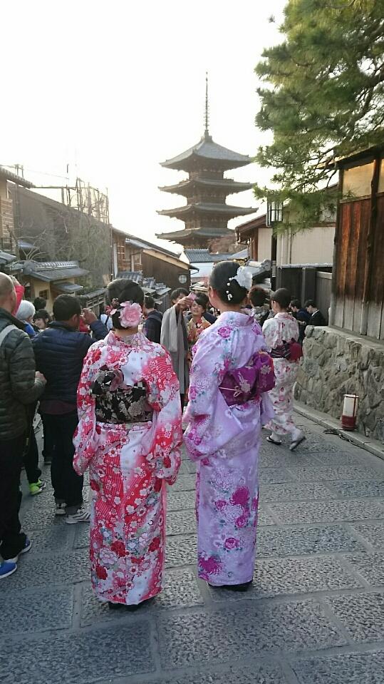 京都も暖かくなってきましたぁ♡2018年3月13日7