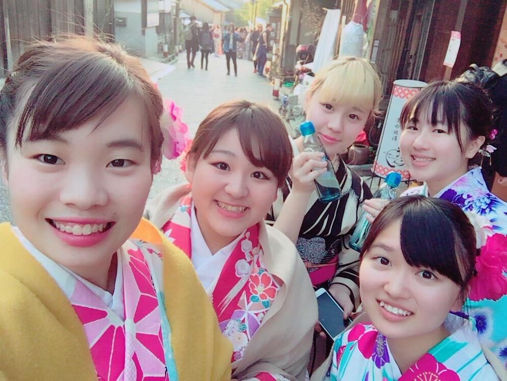 京都も暖かくなってきましたぁ♡2018年3月13日21