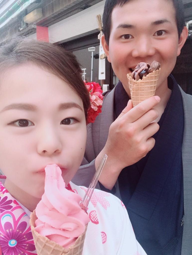 円山公園は桜満開です♡2018年3月27日6