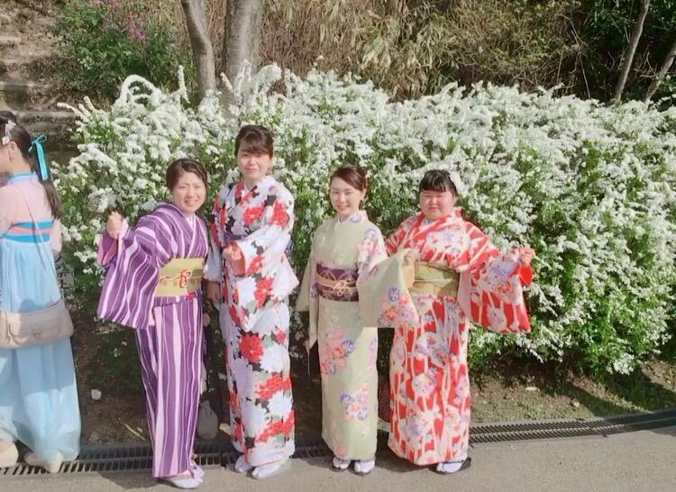 円山公園は桜満開です♡2018年3月27日7