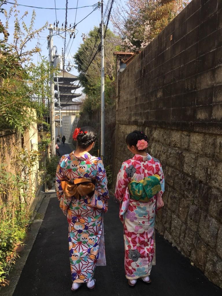 円山公園は桜満開です♡2018年3月27日18