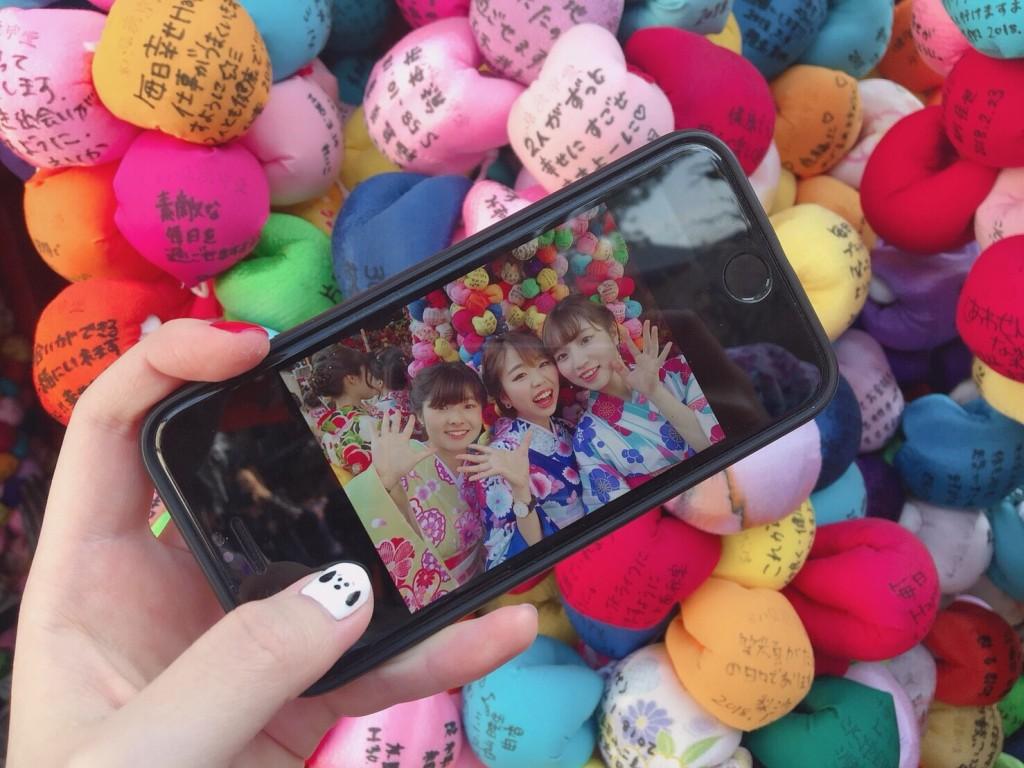円山公園は桜満開です♡2018年3月27日19