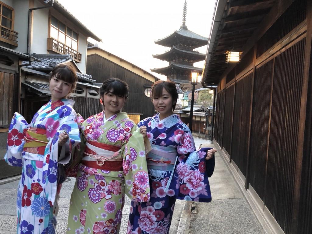 円山公園は桜満開です♡2018年3月27日20