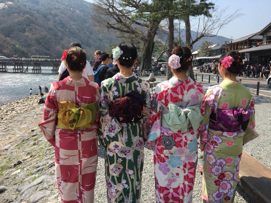 円山公園は桜満開です♡2018年3月27日24