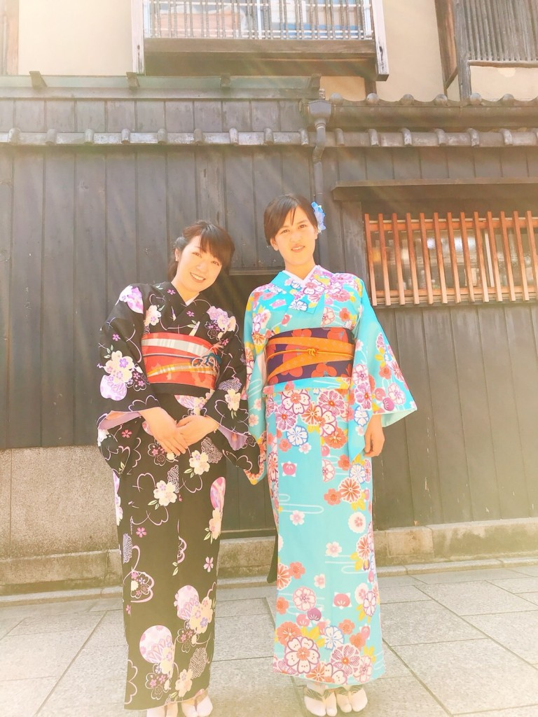 学生さん❣春休みに着物で京都の桜を満喫♪2018年3月28日24