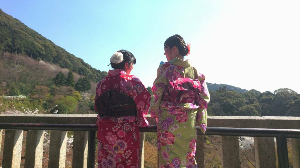 学生さん❣春休みに着物で京都の桜を満喫♪2018年3月28日27