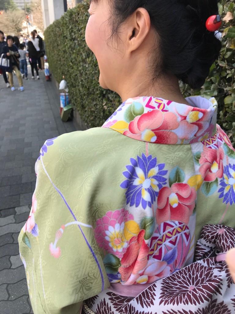 学生さん❣春休みに着物で京都の桜を満喫♪2018年3月28日29