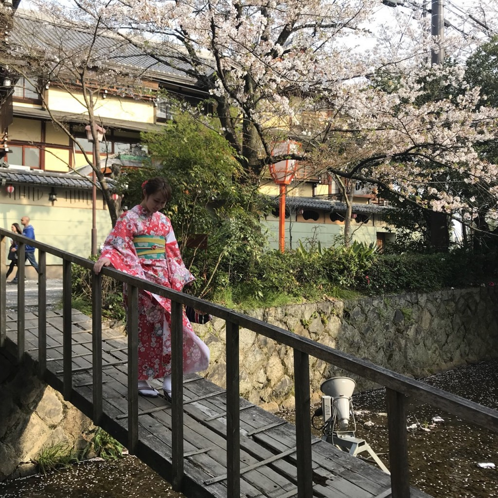 夜の八坂庚申堂2018年3月29日1