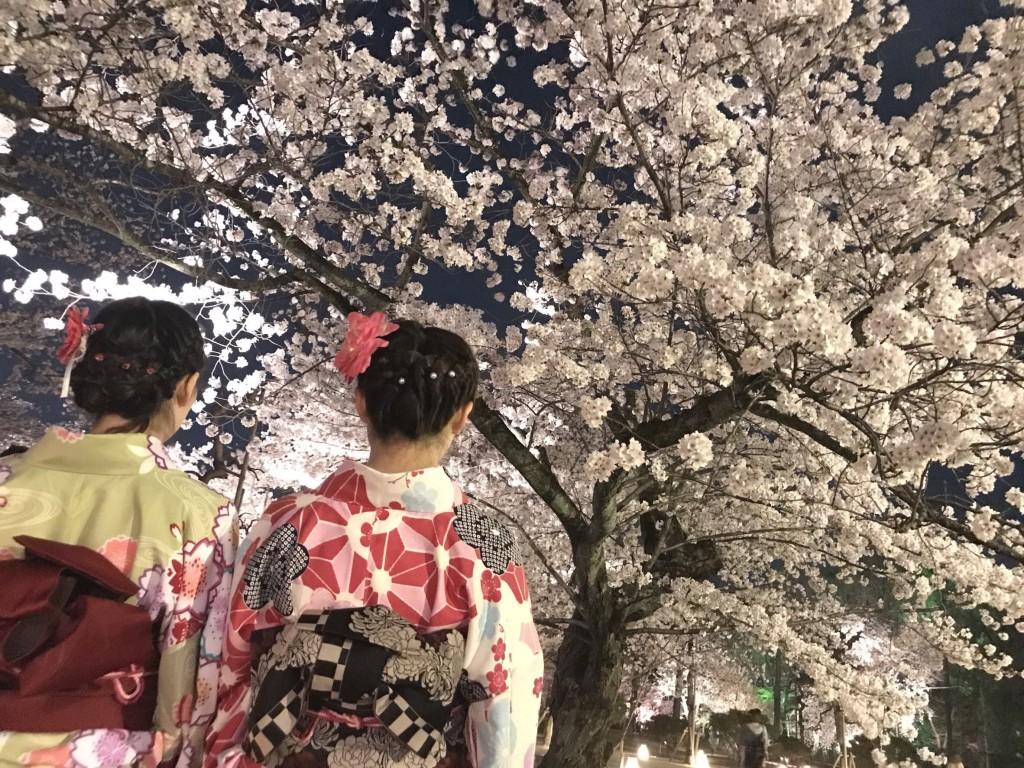 夜の八坂庚申堂2018年3月29日25