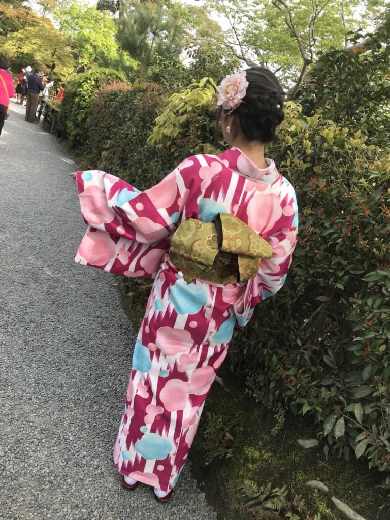 新緑の京都東山を人力車で観光(^^♪2018年4月16日4