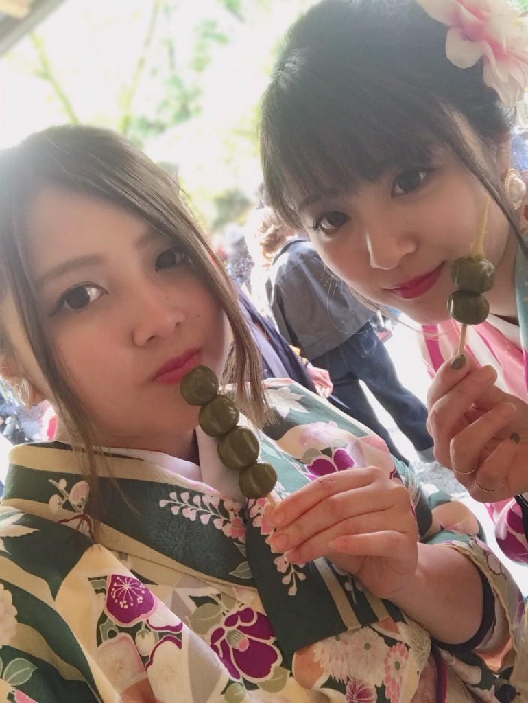 新緑の京都東山を人力車で観光(^^♪2018年4月16日6