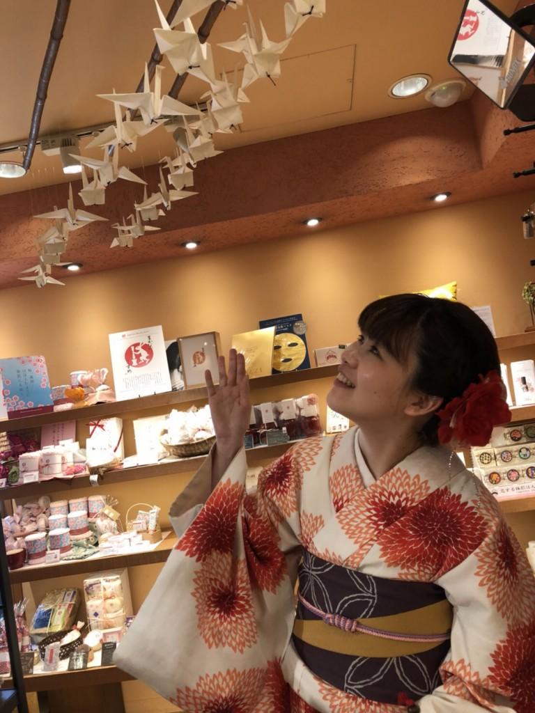 4月ですが夏日の京都を着物で楽しみましたぁ♪2018年4月21日5