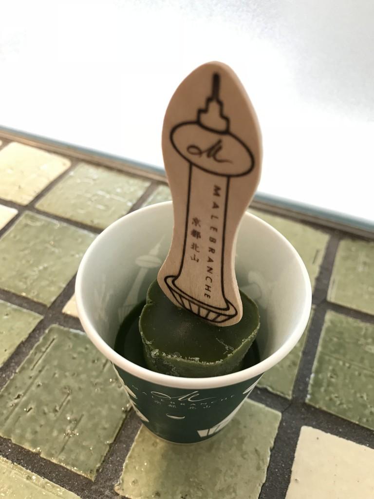 京都タワー店限定「生茶の菓アイスバー」4