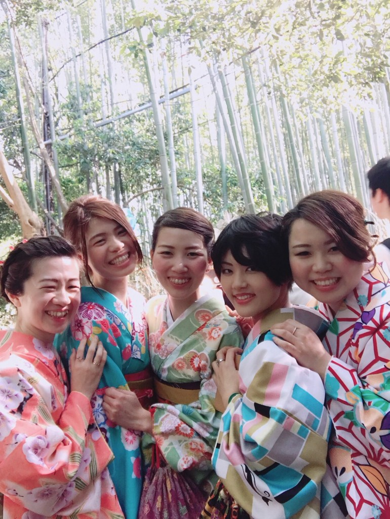 姉妹店浅草着物レンタル古都を複数回ご利用のお客様ご来店♡2018年4月28日2