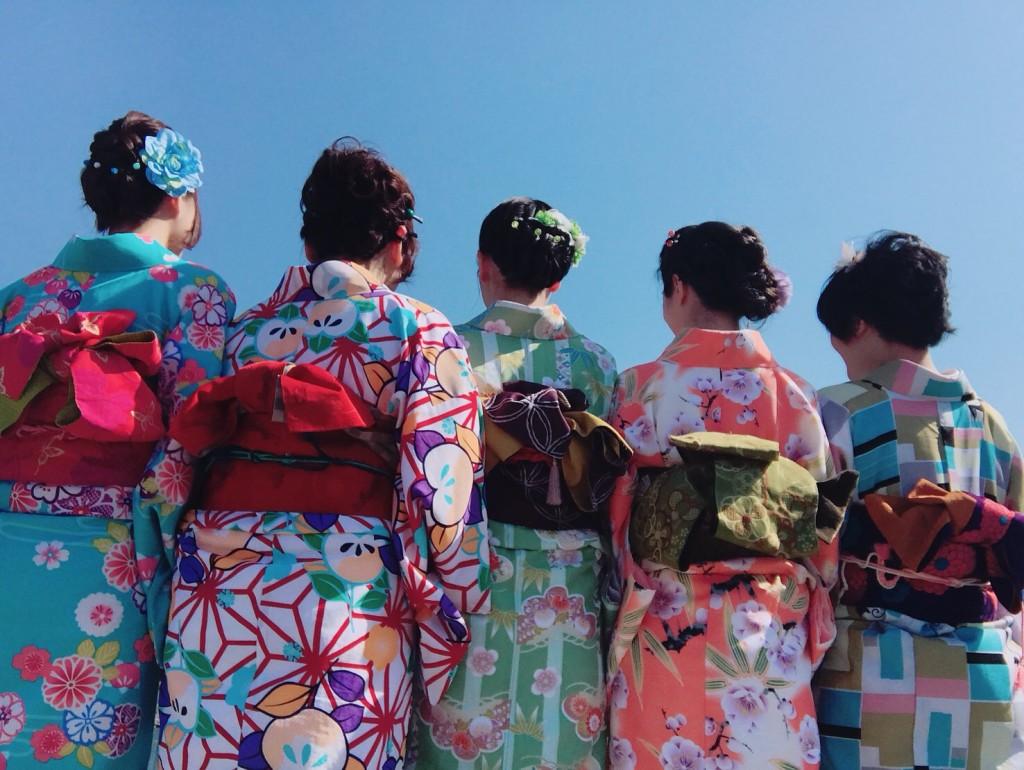 姉妹店浅草着物レンタル古都を複数回ご利用のお客様ご来店♡2018年4月28日3