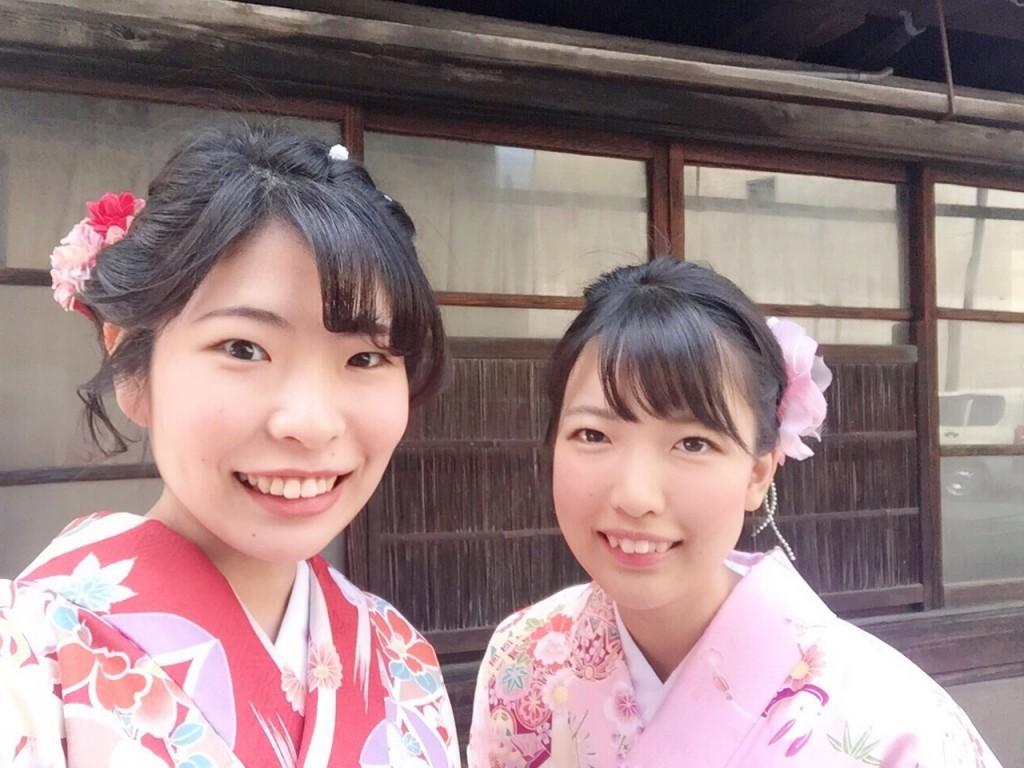 姉妹店浅草着物レンタル古都を複数回ご利用のお客様ご来店♡2018年4月28日7